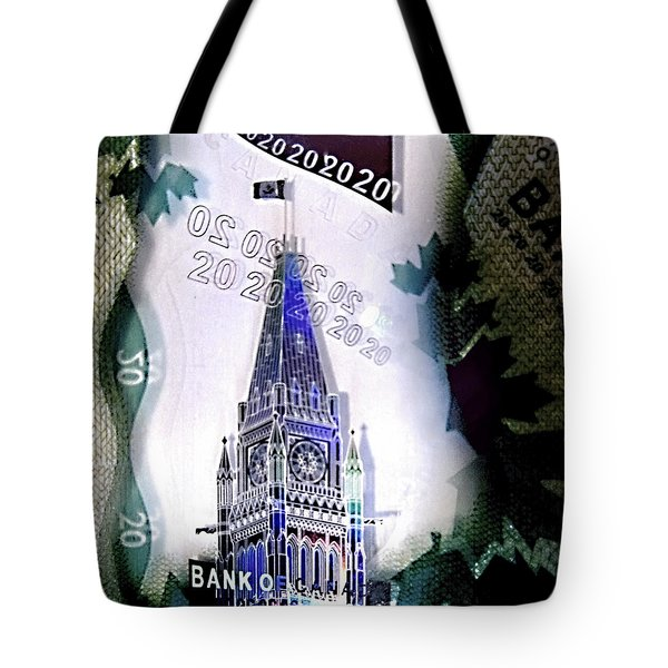 Holographic Parlement Tote Bag