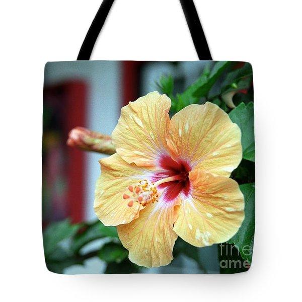 Holualoa Hibiscus Tote Bag