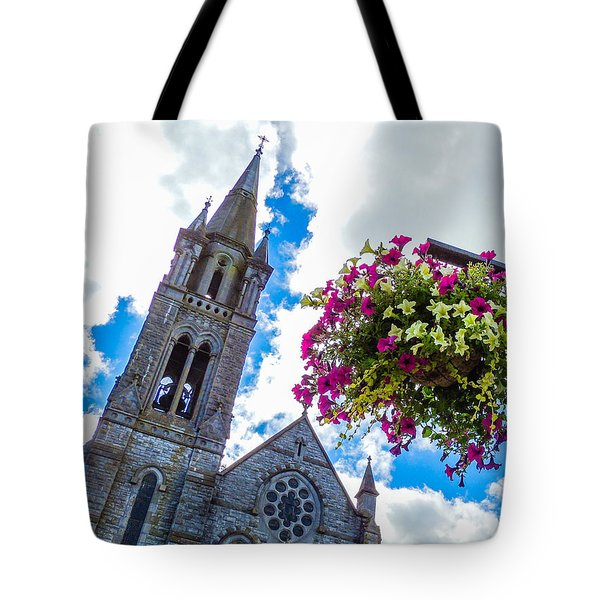 Holy Cross Church Steeple Charleville Ireland Tote Bag