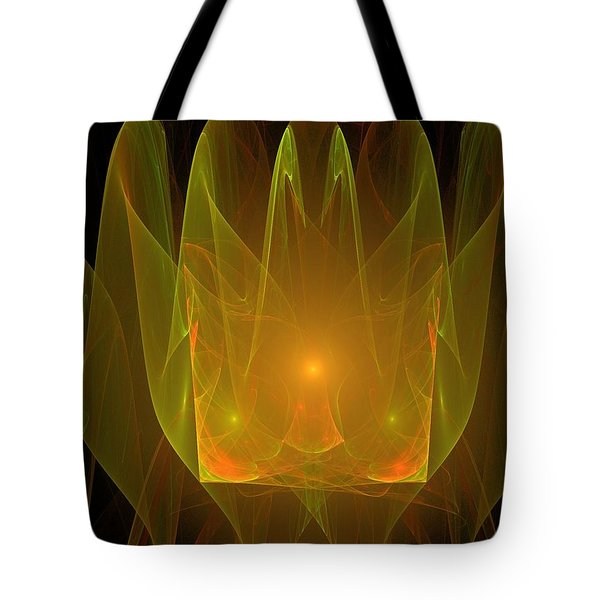 Holy Ghost Fire Tote Bag by Bruce Nutting