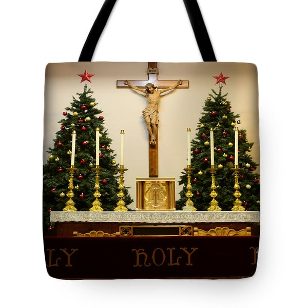 Holy Holy Holy Tote Bag by Bob Christopher