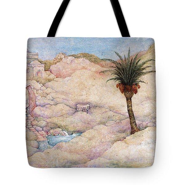Holy Land Tote Bag by Michoel Muchnik