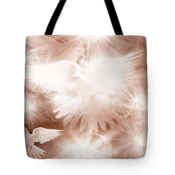 Holy Light Tote Bag