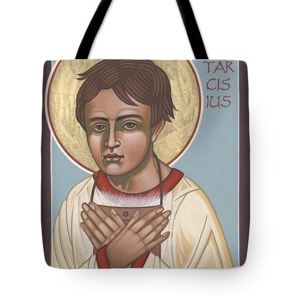 Holy Martyr St. Tarcisius Patron Of Altar Servers 271 Tote Bag