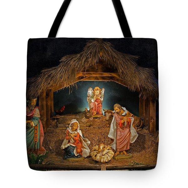 Holy Night Tote Bag by Susan  McMenamin