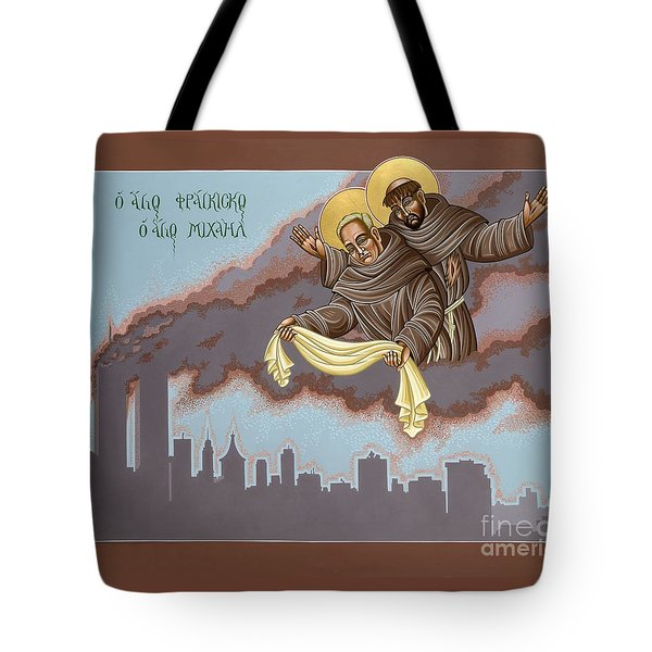 Holy Passion Bearer Mychal Judge 132 Tote Bag