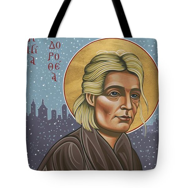 Holy Prophet Dorothy Day 154 Tote Bag