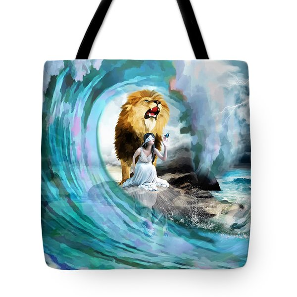 Holy Roar Tote Bag