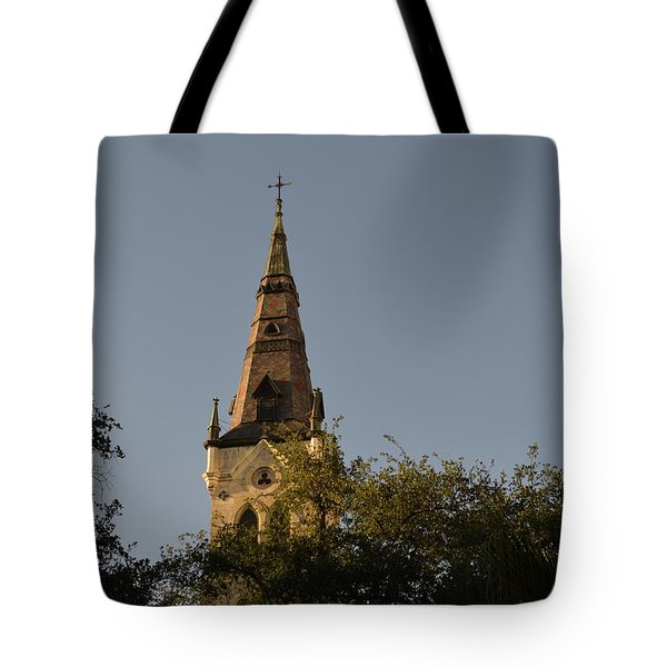 Tote Bag featuring the photograph Holy Tower   by Shawn Marlow
