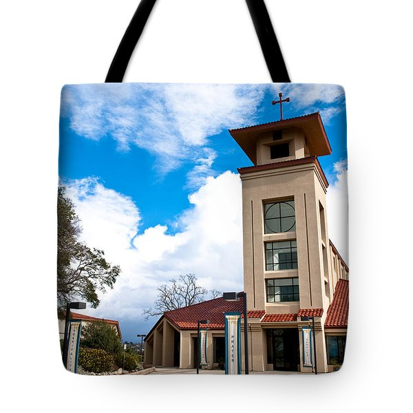 Tote Bag featuring the photograph Holy Trinity Church by Shane Kelly