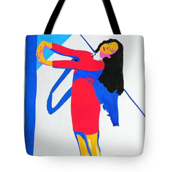 Homage To Carven Tote Bag
