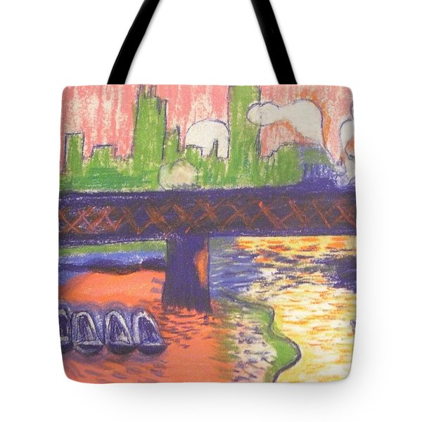 Homage To' Derain' Westminster Bridge 1906 Tote Bag