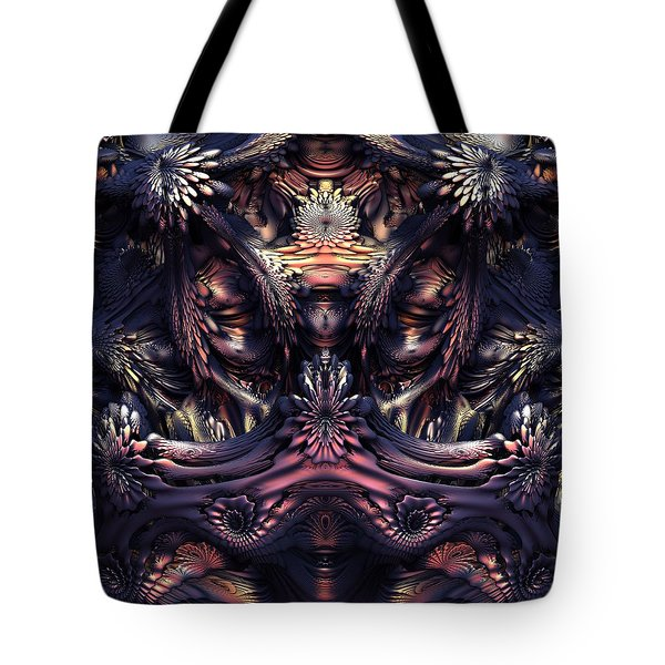 Homage To Giger Tote Bag by Lyle Hatch