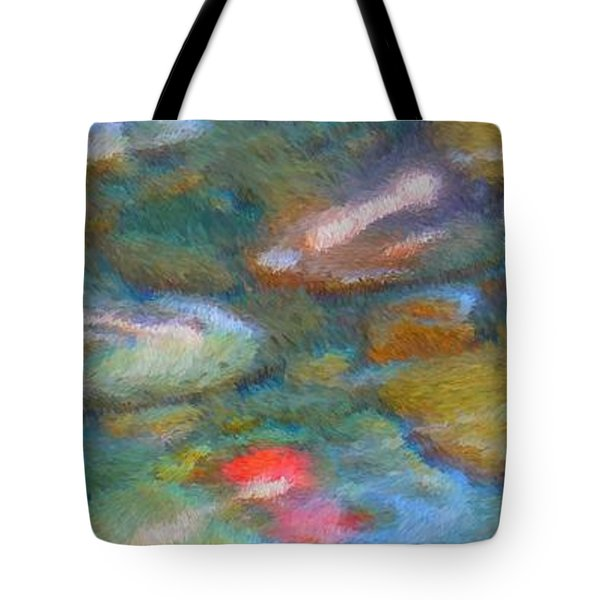Homage To Van Gogh 1 Tote Bag by Carol Groenen