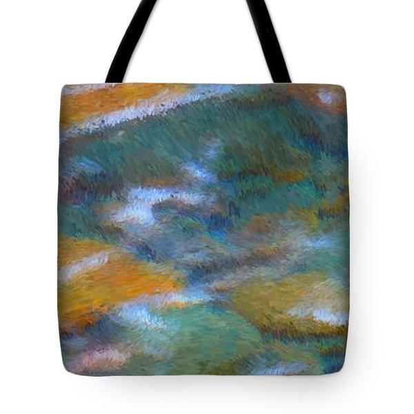Homage To Van Gogh 2 Tote Bag by Carol Groenen