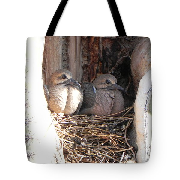 Tote Bag featuring the photograph Home All Alone by Deb Halloran