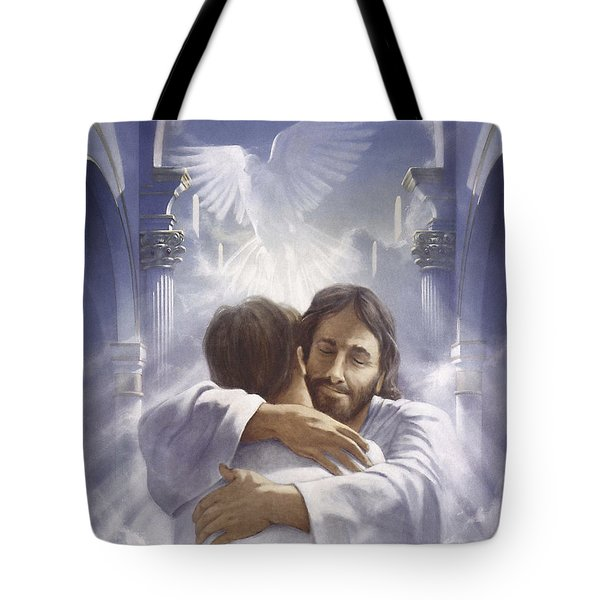 Home At Last Tote Bag