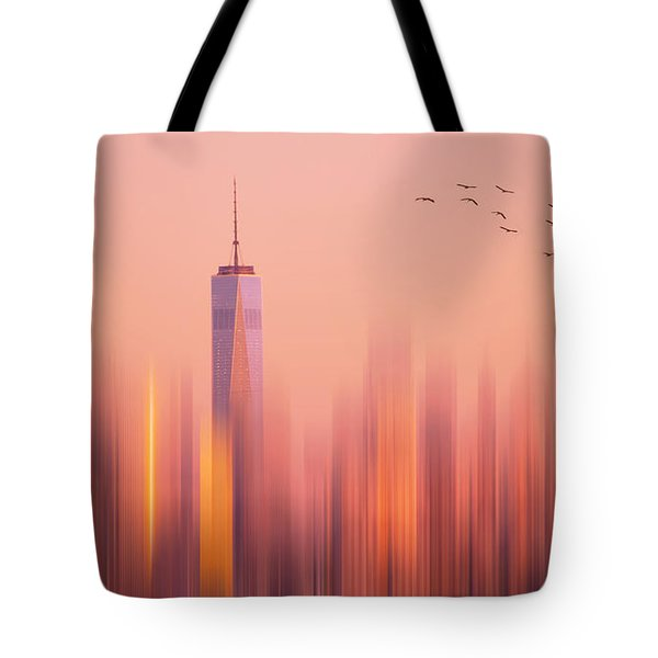 Towards Freedom Tote Bag by Rima Biswas