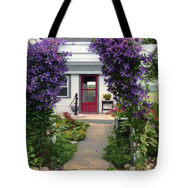 Home Tote Bag by Bruce Morrison