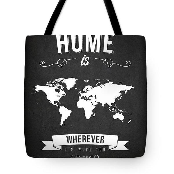 Home - Dark Tote Bag