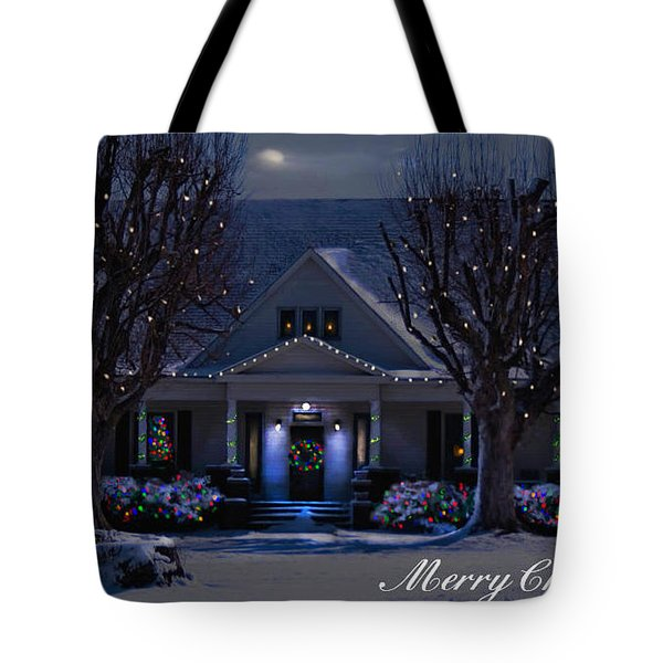 Tote Bag featuring the photograph Home For Christmas by Bonnie Willis