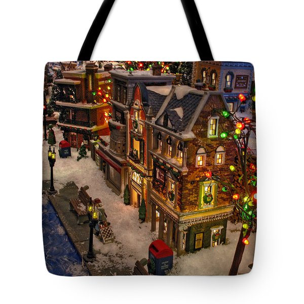 Tote Bag featuring the photograph Home For The Holidays by GJ Blackman