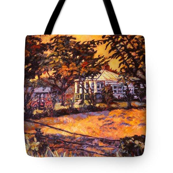 Home In Christiansburg Tote Bag by Kendall Kessler