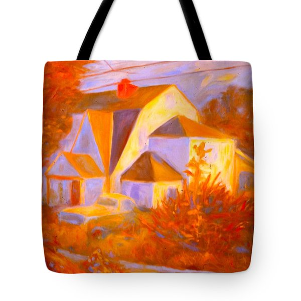 Home In Christiansburg Sketch Tote Bag by Kendall Kessler
