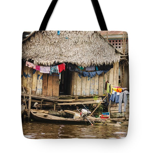 Home In Shanty Town Tote Bag