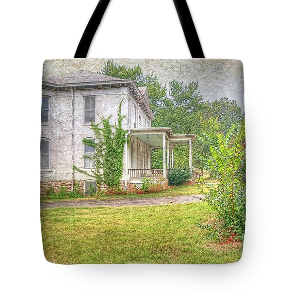 Home Is Where The Heart Is Tote Bag by Liane Wright