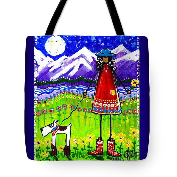 Home Tote Bag by Jackie Carpenter