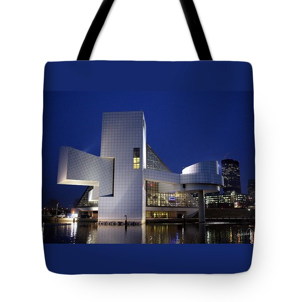Tote Bag featuring the photograph Home Of Rock 'n Roll by Terri Harper