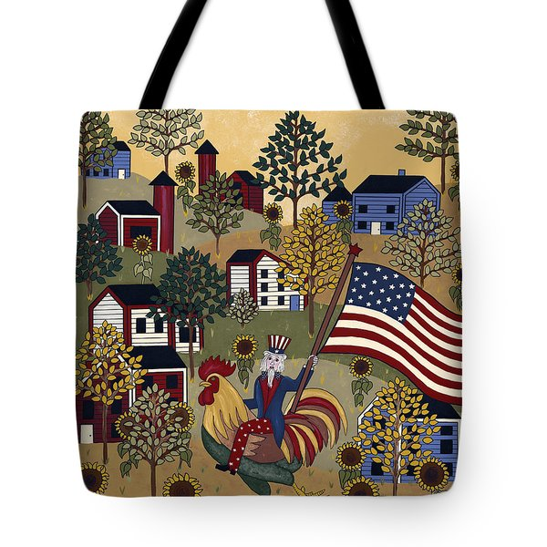 Home Of The Brave Tote Bag by Medana Gabbard