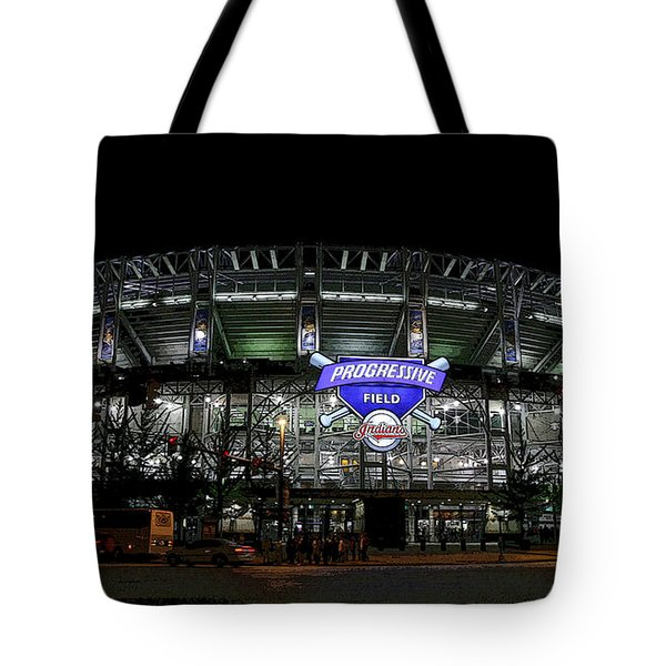 Home Of The Cleveland Indians Tote Bag