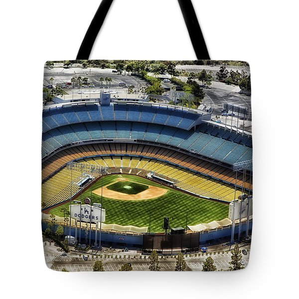 Home Of The Los Angeles Dodgers Tote Bag