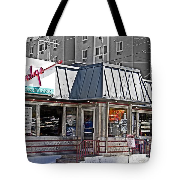 Home Of The Teeny Weenie Tote Bag by Tom Gari Gallery-Three-Photography