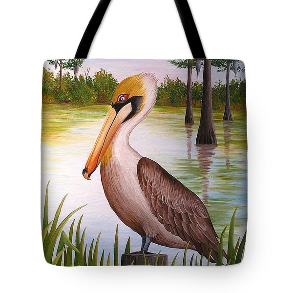 Home On The Bayou  Tote Bag