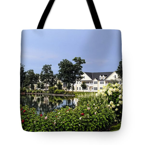 Home On The Golf Course Tote Bag