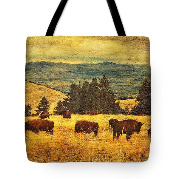 Home On The Range Tote Bag by Lianne Schneider