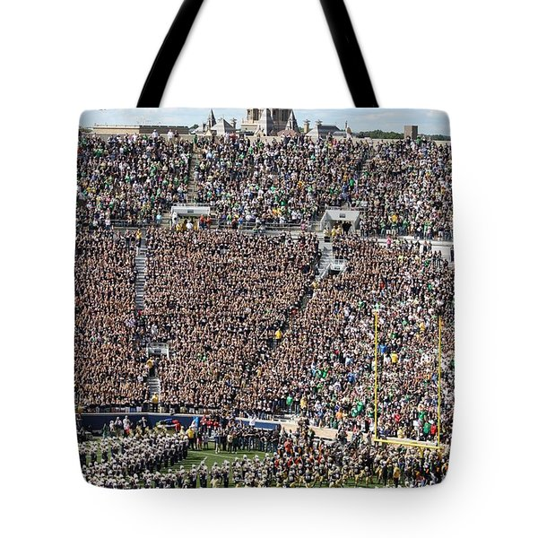 Home Opener 2012 Tote Bag by Michael Cressy