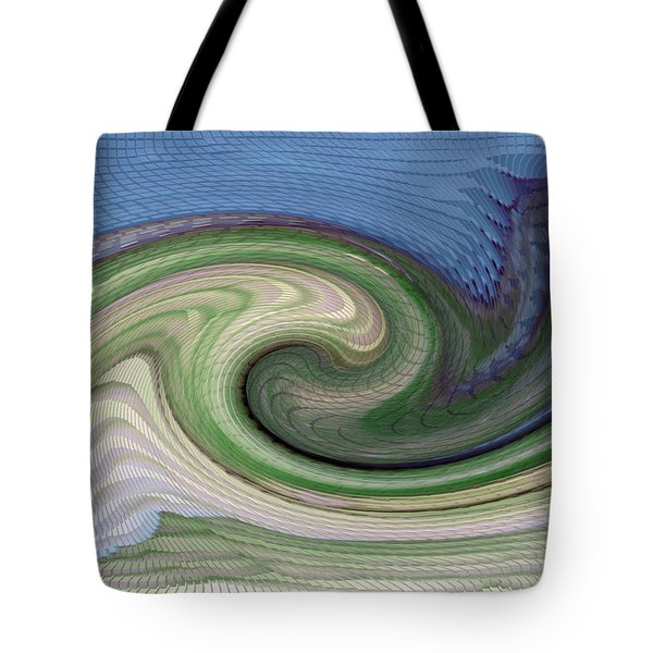 Home Planet - Gravity Well Tote Bag by Bill Owen