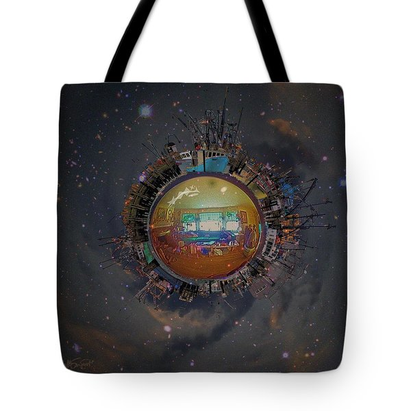 Home Planet Tote Bag