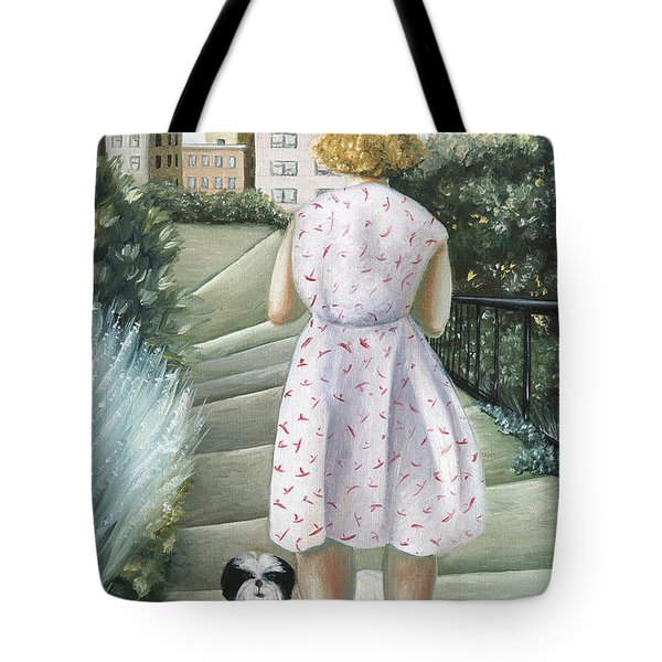 Home Study Tote Bag by Caroline Jennings