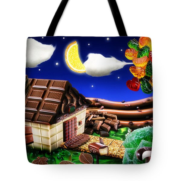 Home Sweet Home... Tote Bag by Alessandro Della Pietra