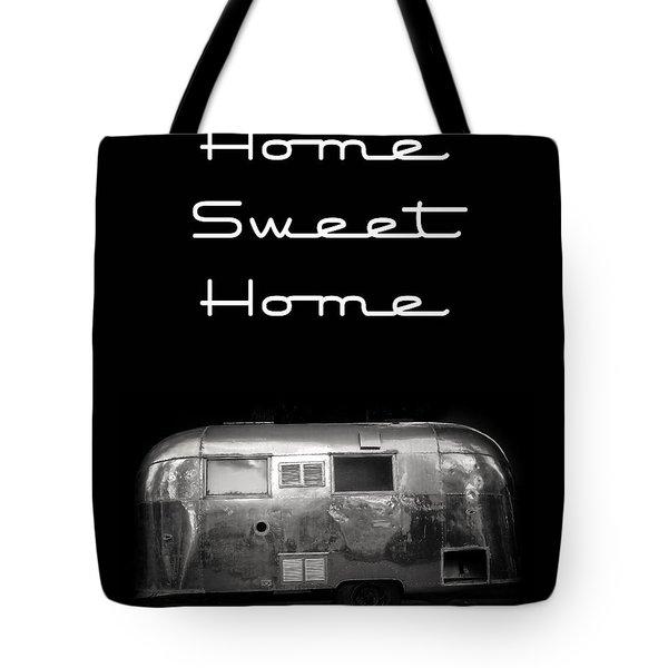 Home Sweet Home Vintage Airstream Tote Bag