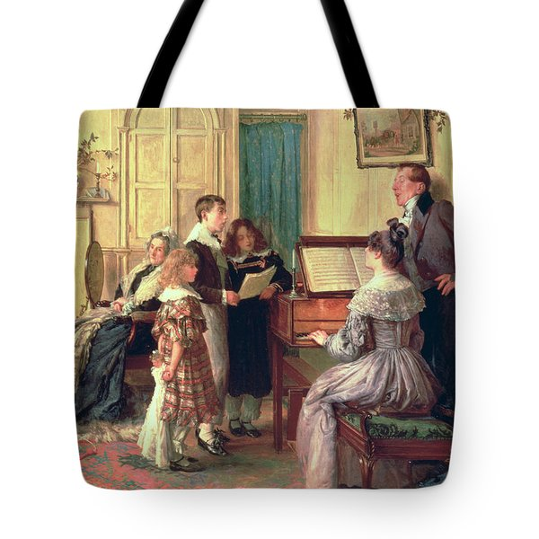 Home Sweet Home Tote Bag by Walter Dendy Sadler