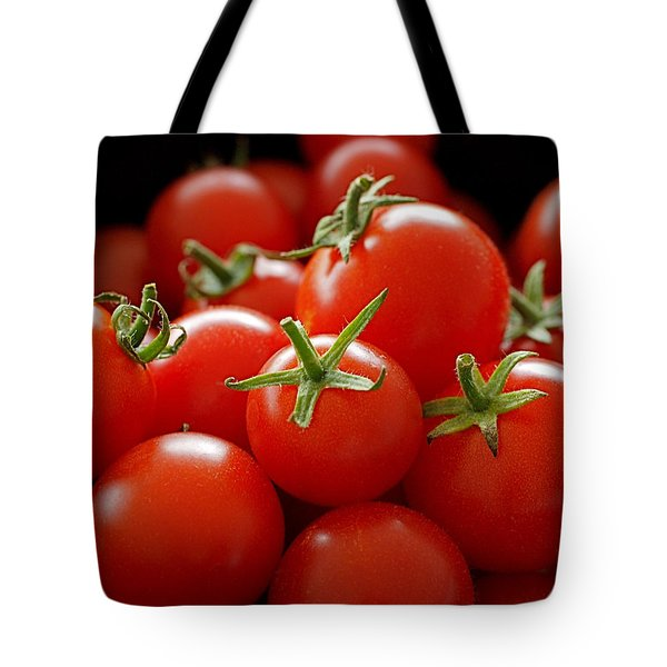 Homegrown Tomatoes Tote Bag by Rona Black