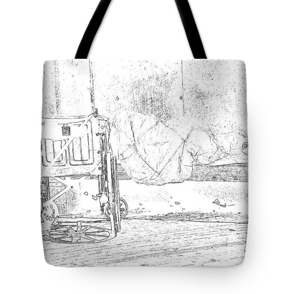 Homeless In Seattle Tote Bag by John Schneider