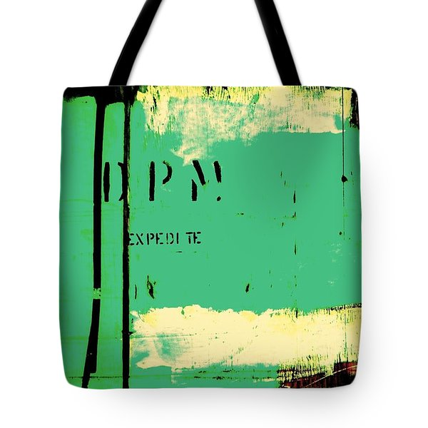 Homeless Shelter Tote Bag by Chris Berry