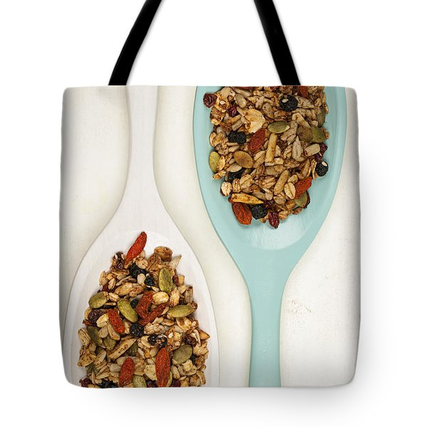 Homemade Granola In Spoons Tote Bag